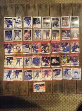 Vintage 1990-92 QUEBEC NORDIQUES  LOT / 40 Vintage NHL Hockey Card Lot