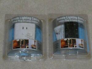Zenith Wireless Lighting System Plug Adapter & Remote Control