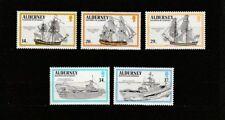 - Aurigny Alderney  bateaux voiliers navires    num:  43/47  **