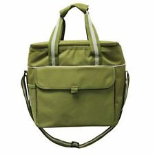 Earthwise Insulated LUNCH BAG w/ZIPPER Closure Extra Large , ADJUSTABLE SHOULDER