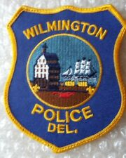 Patch Wilmington US Police Department Patch 115 X 97 mm New*