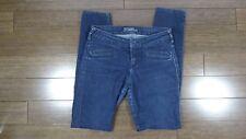 Women's GUESS Dark Wash Sequin Detail Skinny Jeans Denim Sz 26