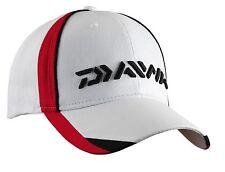 Daiwa Cap Angelbekleidung Mütze Kappe Schildkappe Schildmütze weiß