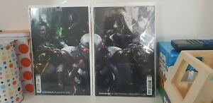 SUICIDE SQUAD #50 AND #51 Francesco Mattina Connecting Covers - Harley Quinn