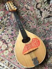 More details for vintage russian eight string mandolin with makers label