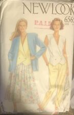 Simplicity New Look pattern 6565 Misses' Jacket, Top, Skirt, Pants size 6, 8