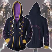 Game Fire Emblem Robin Cosplay Hooded Jacket 3D Printed Sweatshirt Hoodie Coat