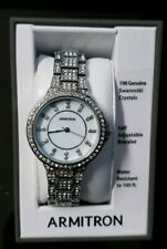 BRAND NEW Armitron 75/5317mpsv  Womens Showcase Dress Watch
