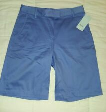 women's for new lady Hagar violet colored Bermuda style shorts. Persian Jewel