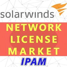 SolarWinds IP Address Manager License - SLX, Permanent and Unlimited