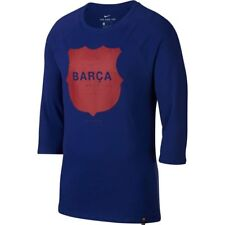Nike Mens FC Barcelona Barca 3/4 Sleeve Raglan Soccer T Shirt  Save 25%!! Large