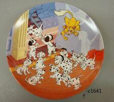 Disney 101 Dalmations Sargeant Tibbs Saves The Day 4th plate Bradford new coa