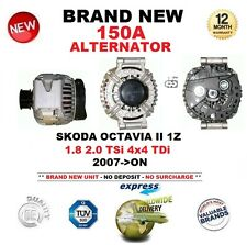FOR SKODA OCTAVIA II 1Z 1.8 2.0 TSi 4x4 TDi 2007-ON 150A ALTERNATOR OE QUALITY