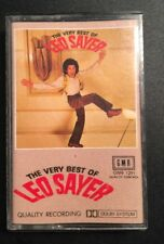 LEO SAYER 'THE VERY BEST OF' Cassette Tape Album
