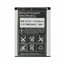 Genuine Sony Ericsson Battery Mobile W800i W810i K-750i K610i K600 W550i BST-37