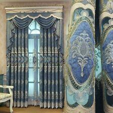 Exotic Embroidery Curtain Cloth Pelmet Guipure Lace Voile Window Panel Drape DIY
