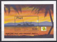 Fiji 1999 Patrimonio marittimo 2 serie MHN