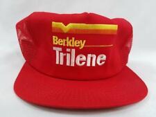 Trilene Fishing Line Lures Berkley New VTG Snapback Mesh Trucker Hat Cap 80s