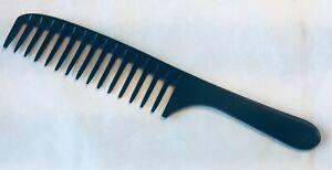 New Prof. longer Detangler Hand Made Bone Comb seamless comb by hairsense #206