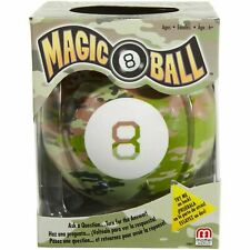 Magic 8 Ball Camouflage Fortune-Telling Novelty Toy MISB BRAND NEW SEALED