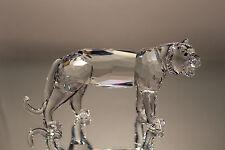 Swarovski Crystal Tiger 7610 000 003 220470 NEW IN BOX ENDANGERED SPECIES