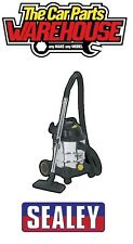 Sealey Vacuum Cleaner Industrial Wet & Dry 20ltr 1250W / 110V Stainless Drum