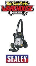 Sealey Aspirateur Industriel Wet & Dry 20ltr 1250 W/110 V Acier Inoxydable Tambour