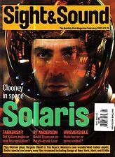 Sight and Sound Magazine February 2003 Solaris Tarkovsky The Hours