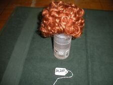 Global Dolls B Lauren Size 13-14 Carrot Red Doll Wig DL250