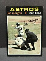 1971 TOPPS # 264 JOE MORGAN (EX-NM+) Houston Astros HOF