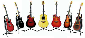 OVATION GUITAR COLLECTION - 7 ULTRA RARE JAPAN ONLY MINIATURE 1/8 SCALE GUITARS