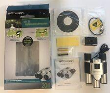 Emerson 10x25 Digital Camera Binoculars - New, Open Box
