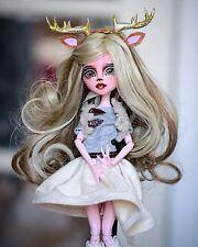 Monster High Ooak Custom Draculaura Deer