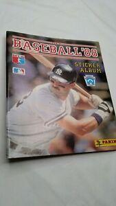 1988 Panini Baseball Sticker Album Don Mattingly. No Stickers