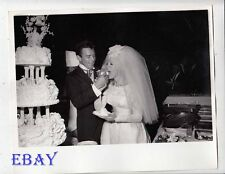 James Stacy marries Connie Stevens VINTAGE Photo