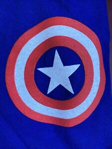Marvel CAPTAIN AMERICA Spirit Jersey NYCC 2019 NEW YORK COMIC CON MEN'S SMALL S