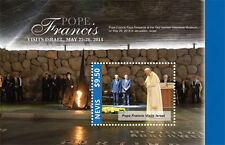 "POPE FRANCIS ""Visits Israel"" Collection, Nevis Stamps 1 sheet and S/S"