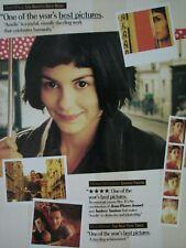 Amelie Audrey Tautou Oscar Ad