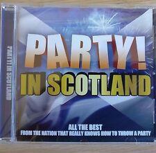 NEW SEALED - PARTY IN SCOTLAND - Scottish Pop Folk Band Music CD Album