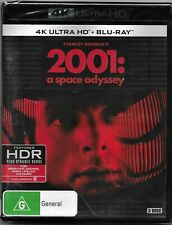 2001 A Space Odyssey 4K UHD Blu-ray Region B Free Post