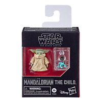 "The Child Black Series Star Wars Mandalorian Baby Yoda Grogu 1.1"" Action Figure"