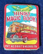 Vintage MAGIC Hindu Magic Book Made in Japan RARE~ Ray Rohr Cosmic Artifacts