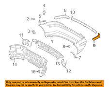 Mercedes MERCEDES-BENZ OEM SLK230-Bumper Trim-Molding Trim Left 17088505211685