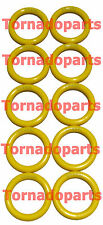 8M4991 YELLOW CATERPILLAR SILICONE O-RINGS-  MOTORCYCLE THROTTLE LOCK (10 PACK)