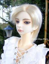 WIG - Super Dollfie size 8-9. BJ Wig .. Bleach Blonde