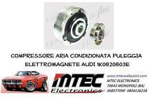 Compresor aire acondicionado POLEA + ELECTROIMÁN AUDI 1K0820803E