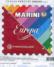 Album Marini King Europa Repubblica italiana 1946/2000 solo servizi listino 21