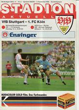 BL 88/89 VfB Stuttgart - 1. FC Köln