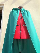 jade green  cloak   with hood new