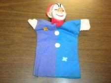 "Hand Puppet vintage Clown 10+"" very good"